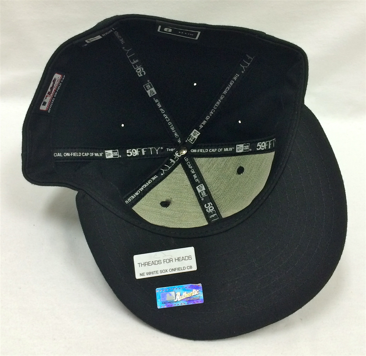 New Era 59Fifty On-Field Chicago White Sox Black Fitted Cap ab711d43253