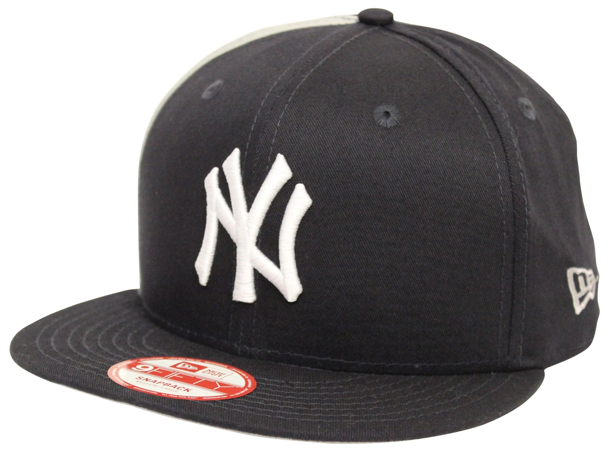 a6053fc74bdc2 New Era 9Fifty Panel Pride New York Yankees Navy Gray Snapback