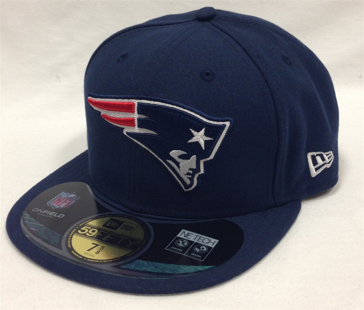 New Era 59Fifty New England Patriots Onfield Navy Fitted Cap 200b9fd1ec4