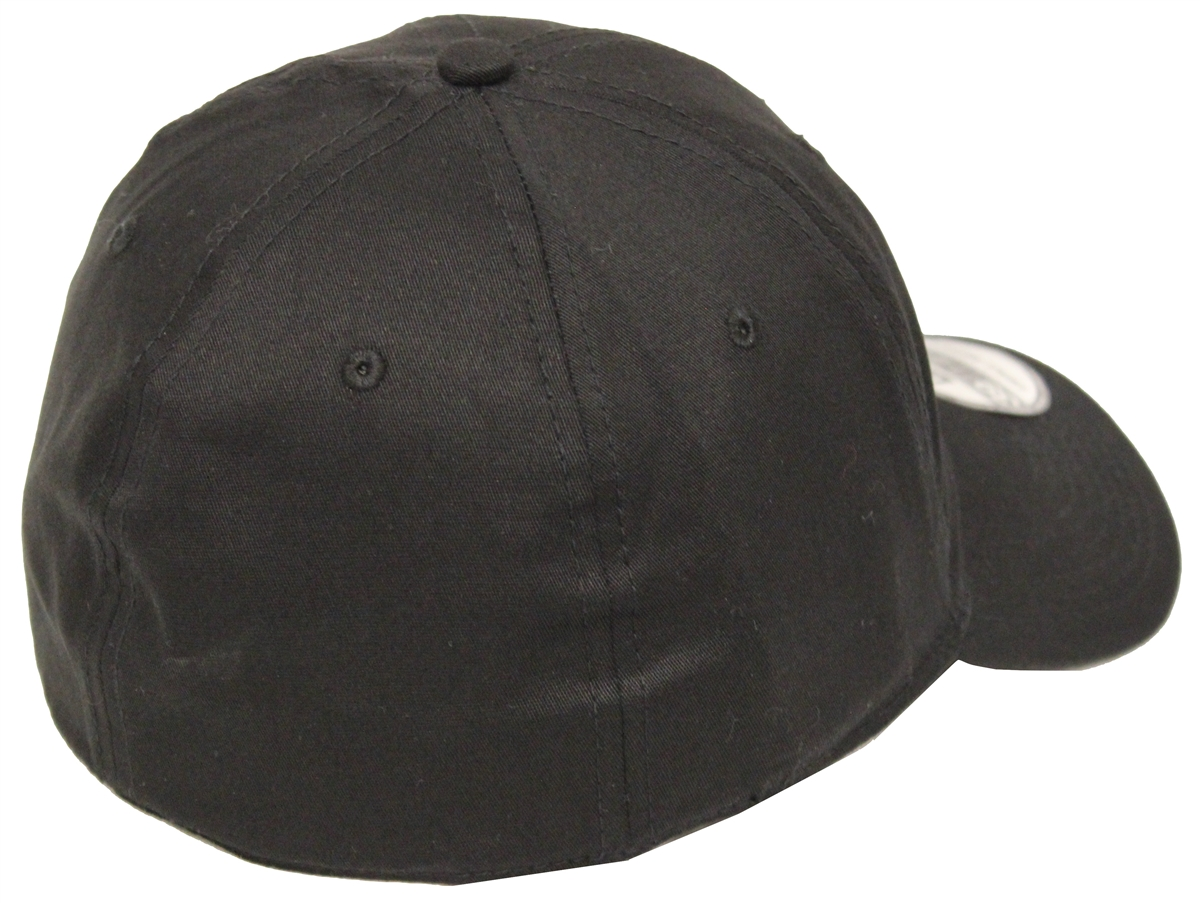 115a94305fa New Era 39Thirty Plain Black FlexFit