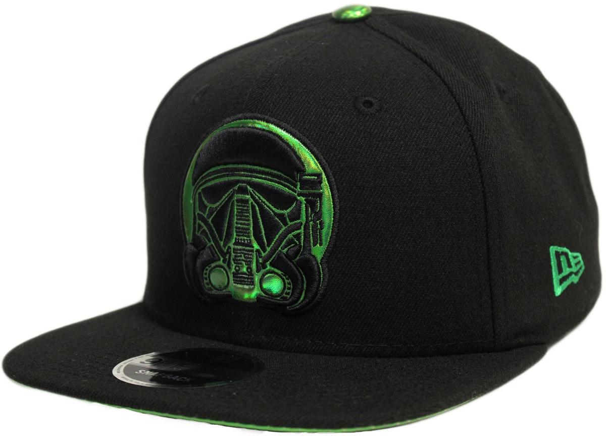 New Era 9Fifty Star Wars Rogue One Death Trooper Black Green ... 47a71bc12fdf