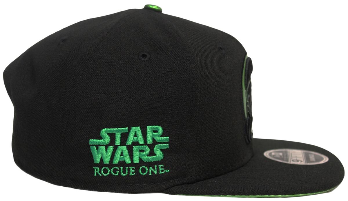 New Era 9Fifty Star Wars Rogue One Death Trooper Black Green Snapback 3D d8632afcd26