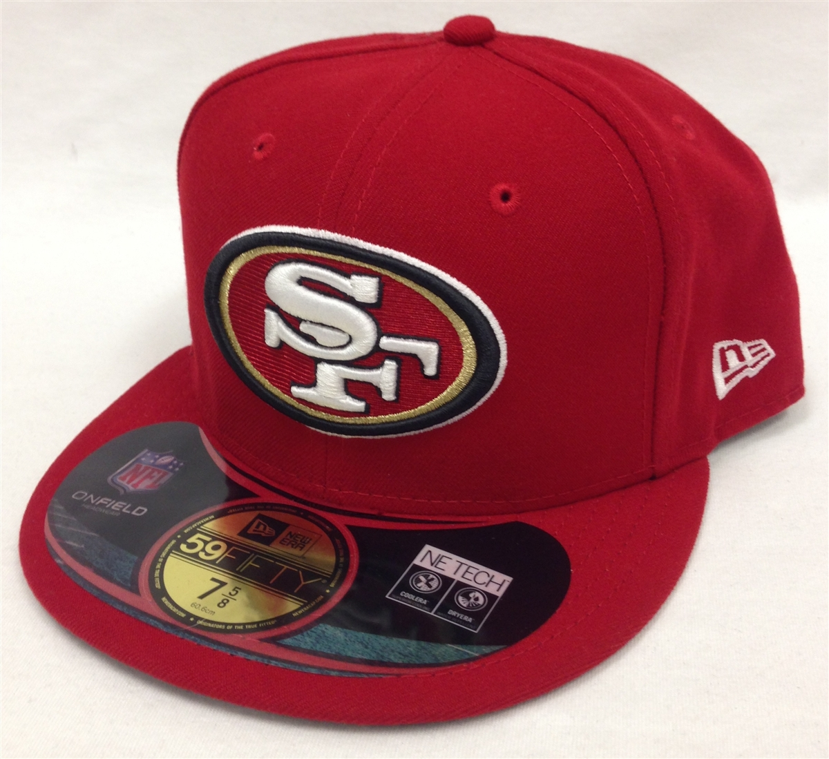 7ab3de7f New Era 59Fifty San Francisco 49ers Onfield Red Fitted Cap