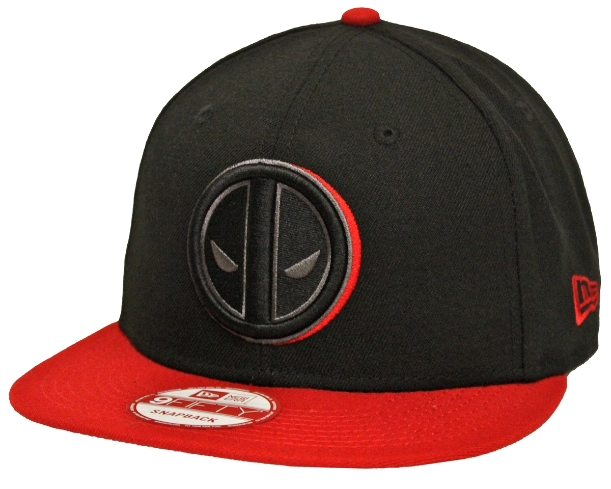 New Era 9Fifty Shadow Slice Deadpool Black Red Snapback 103082a124f
