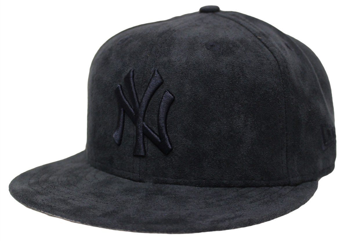 outlet store 83e5f 040dc ... where can i buy new era 59fifty solid suede new york yankees blue  fitted hat a9e14