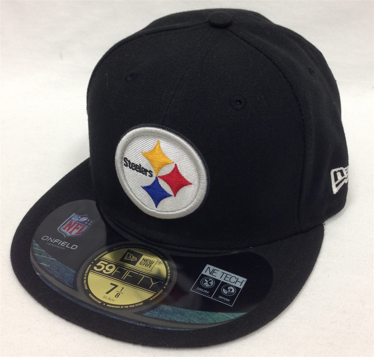 8f0dfbff4 New Era 59Fifty Onfield Pittsburgh Steelers Black Fitted Cap