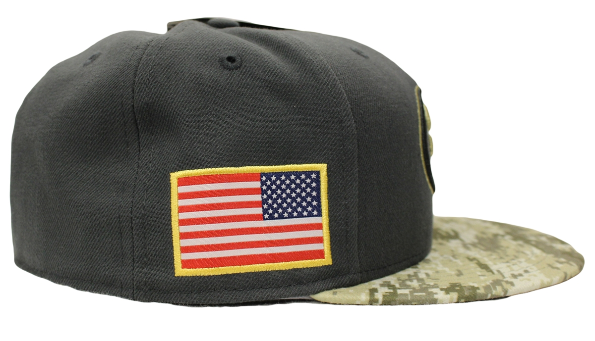 a9d531e8d New Era 59Fifty Hat STS Salute To Service San Francisco 49ers Fitted Cap