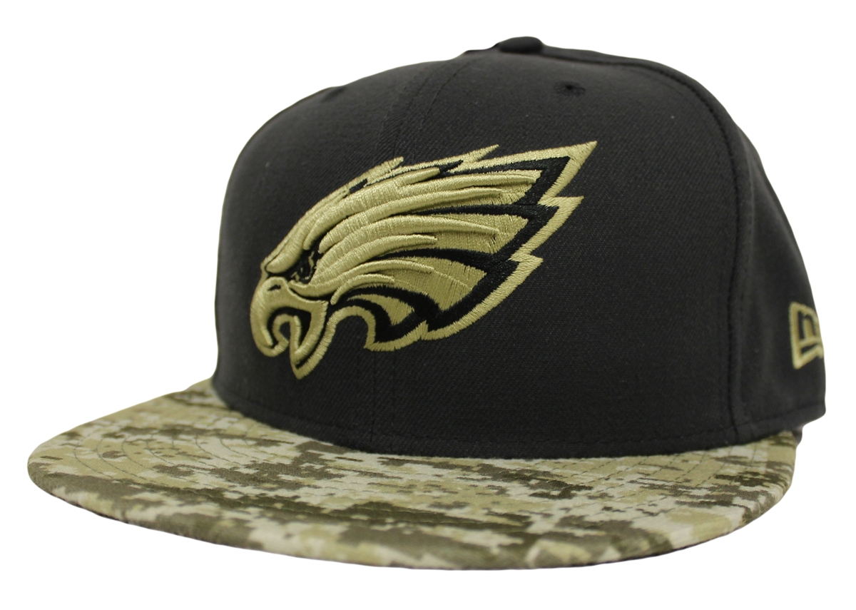 quality design 5ccf4 cc53a ... promo code for new era 59fifty hat sts salute to service philadelphia  eagles fitted cap dd988