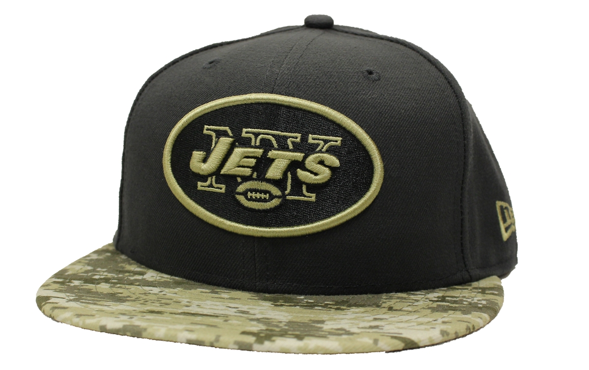New Era 59Fifty Hat STS Salute To Service New York Jets Fitted Cap 51c77c80a36