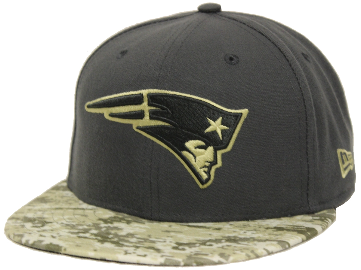 New Era 59Fifty Hat STS Salute To Service New England Patriots ... dc586a39e28