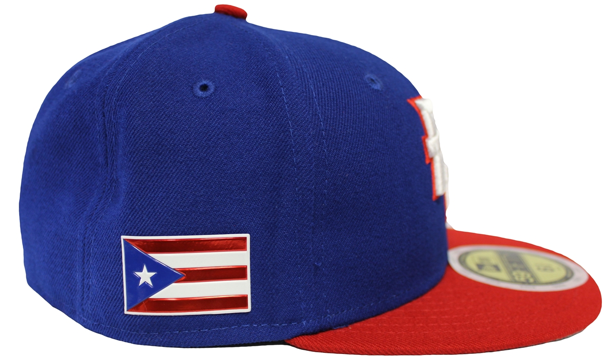 NEW ERA 59Fifty Mens Puerto Rico 2017 WBC World Baseball Classic Fitted 213896c10117
