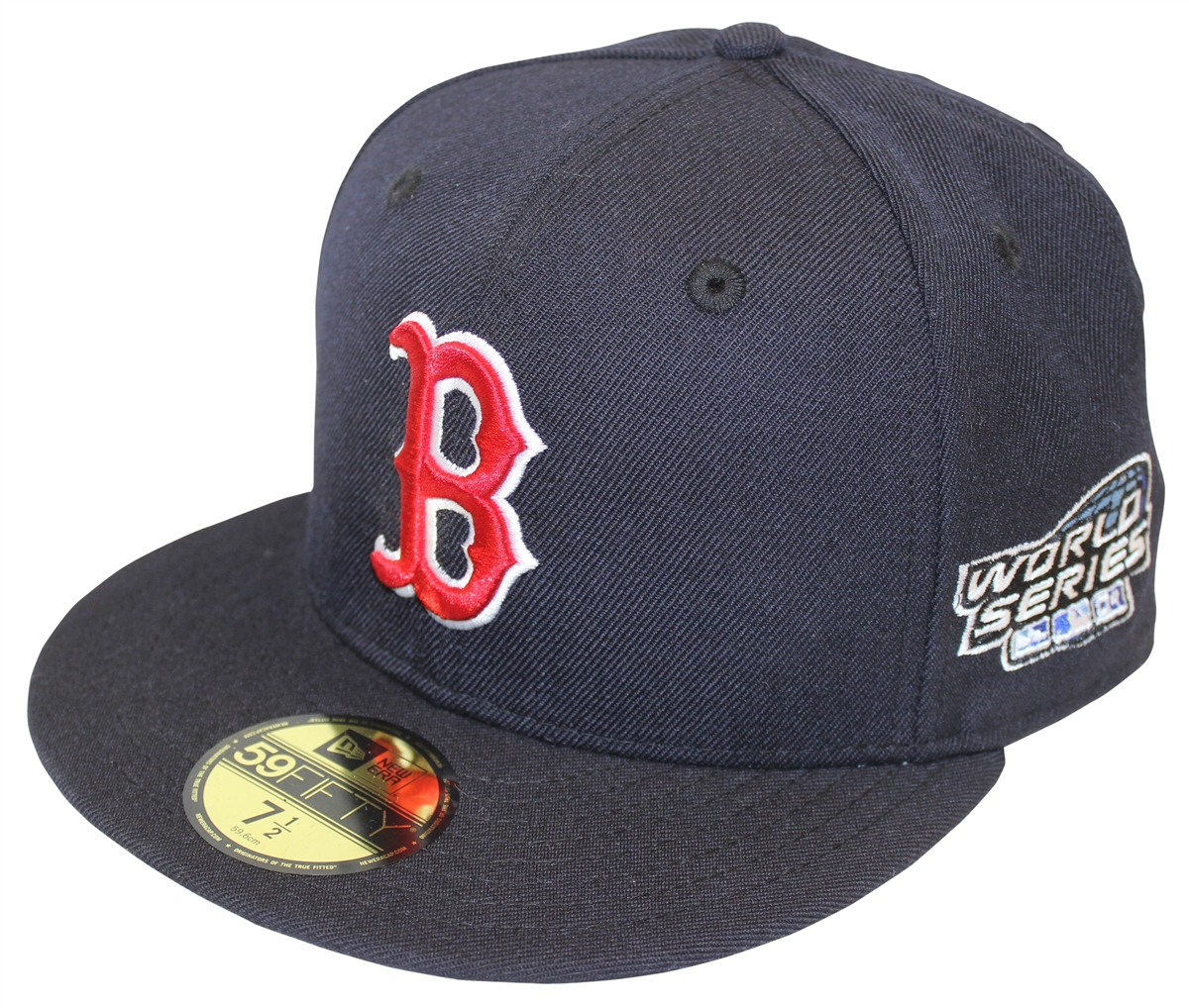 497d2def6e NEW ERA 59Fifty 2004 World Series Boston Red Sox Navy Fitted Cap