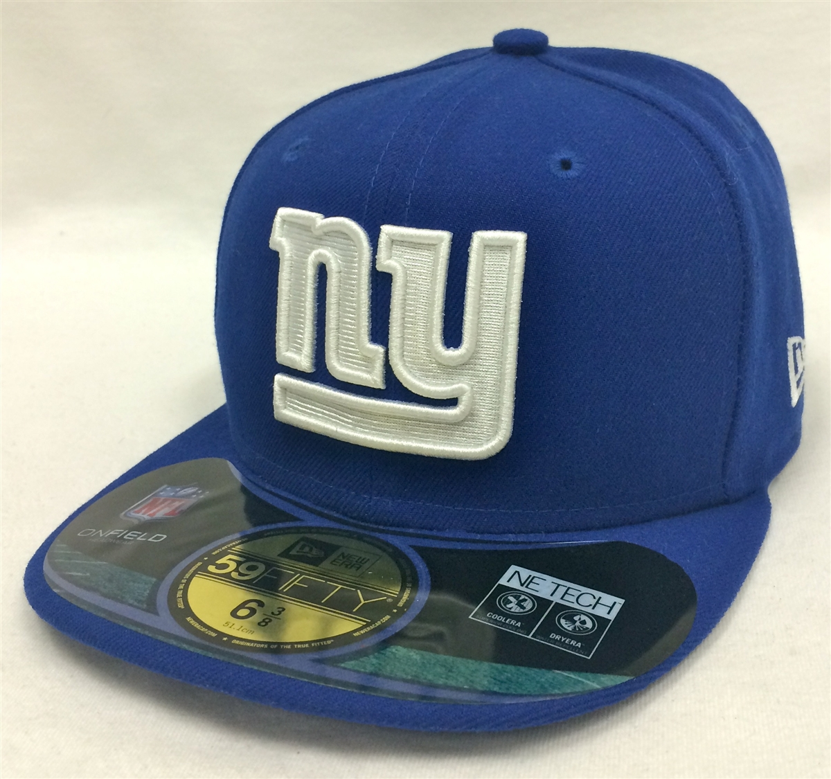 e68d3778802 New Era 59Fifty Youth NFL On-Field New York Giants Blue Fitted Cap