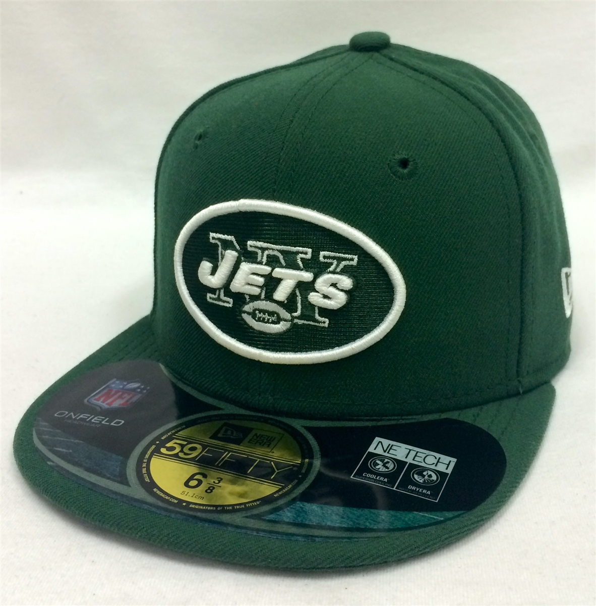New Era 59Fifty Youth NFL On-Field New York Jets Green Fitted Cap 48e82c972