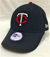82d65e3cc85 New Era Youth Pinch Hitter Minnesota Twins Navy Velcro Hat