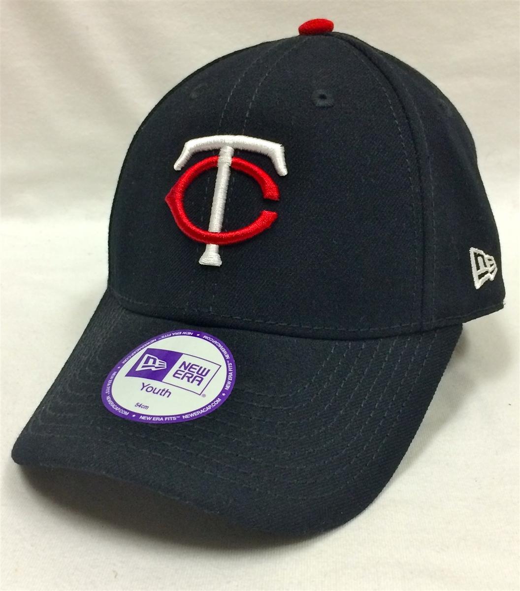 New Era Youth Pinch Hitter Minnesota Twins Navy Velcro Hat b3e0f667656