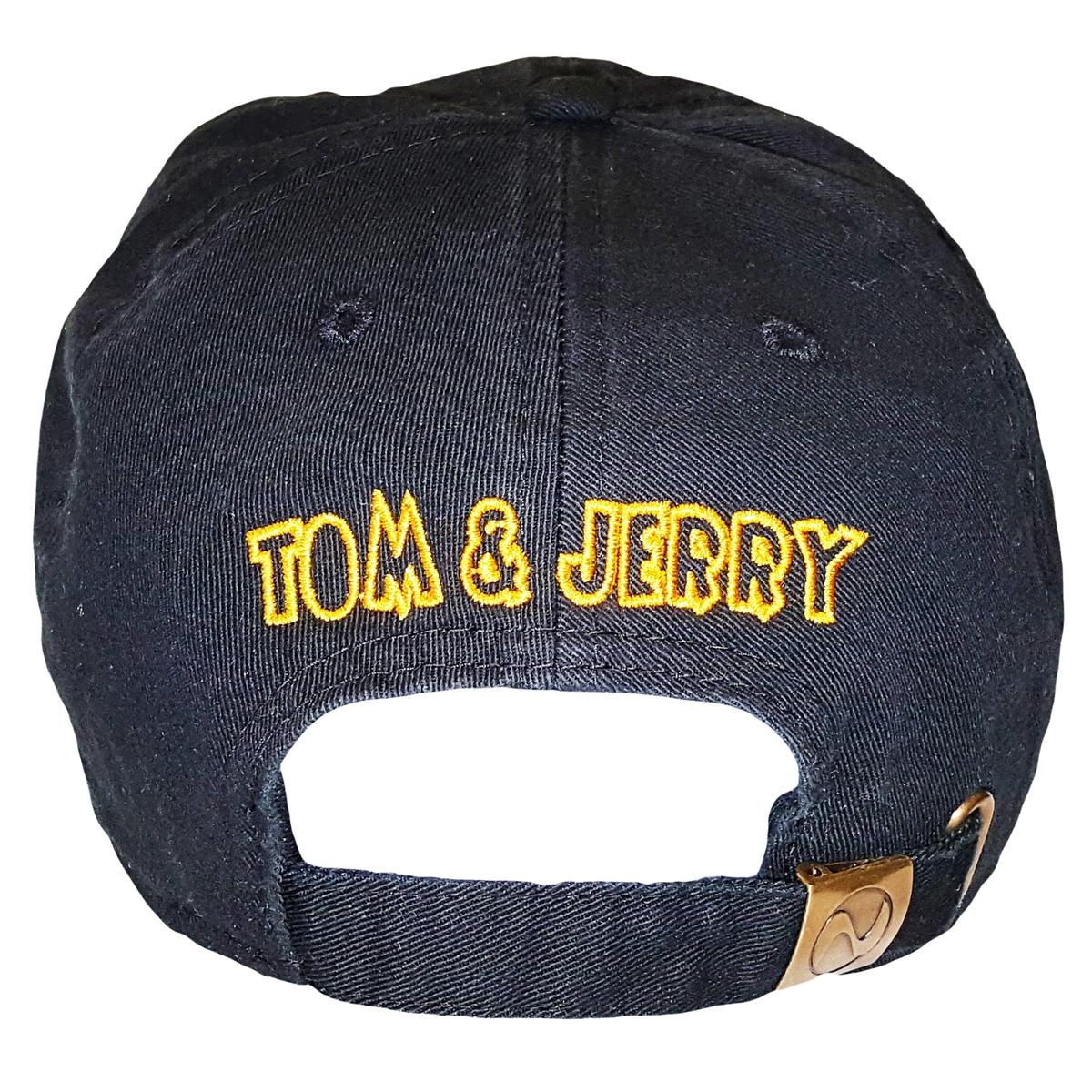 Black Tom   Jerry Adjustable Dad Hat Strapback Patch 57ce4a65659