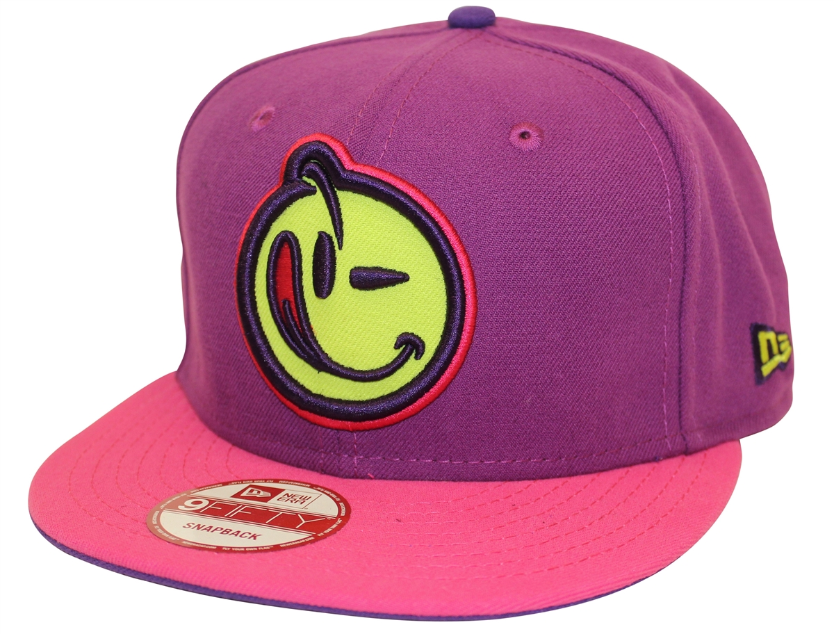 b01a40cf976 New Era 9Fifty Classic Outline Yums Purple Pink Snapback