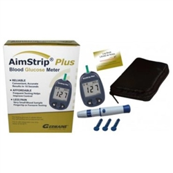 AimStrip Plus Blood Glucose Meter