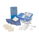 Emergency Birth tray, Non-Latex, Sterile