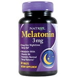 Natrol Melatonin, 3 mg, 60 tablets