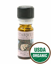 Orange Sweet Essential Oil, Organic