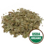 Bilberry Leaf, C/S, Organic, 4 ounces