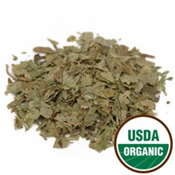 Bilberry Leaf, C/S, Organic, 16 ounces