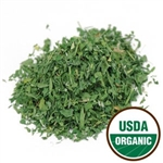Organic Alfalfa Leaf, Cut and Sifted