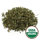 Peppermint Leaf C/S, Organic, 4 ounces
