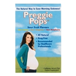 Three Lollies Preggie Pops, Sour, 7 Pcs.