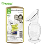 Haakaa Silicone Breast Pump with Suction Base, 5oz/150ml