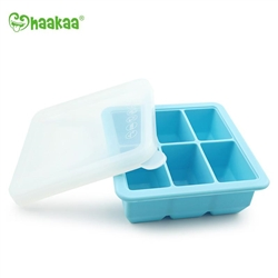 Haakaa Baby Food and Breast Milk Freezer Tray, 6 Compartments