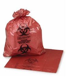 Red Infectious Waste Bags