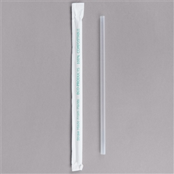 Compostable Plastic Cold Drink Straw
