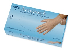 Accutouch Synthetic Powder-Free Exam Gloves