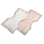 Contour OB Pads, Peach 7x13 inches, These pads are used for that period of time following the immediate birth period. These pads fit very well within the mesh panties and are very absorbent and hold a lot of flow.  I would consider them to be a medium to