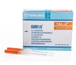 IV Catheter SURFLO® 14 Gauge 2 Inch Without Safety