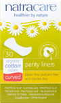 Natracare Panty Liners - Curved