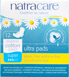 Natracare Natural Pads - Ultra w/Wings-Super 12/Box