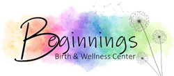 Beginnings Birth and Wellness Center Custom Birth Kit