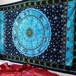 Indian Zodiac Tapestry