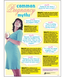 Common Pregnancy Myths Chart