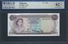 Bahamas, P-17a, 1/2 Dollar, 1965 Signatures: Sands/Higgs 62 TOP Uncirculated