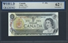 Canada, P-085a, 1 Dollar, 1973, 62 TOP Uncirculated