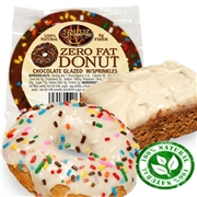 Fat Free Carrot Cake-Fat Free Donut Combo