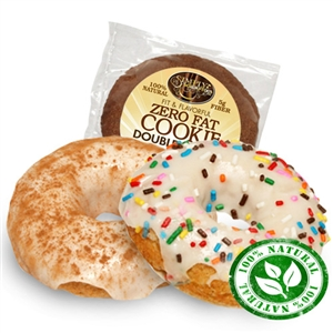 FAT FREE COOKIE-FAT FREE DONUT COMBO