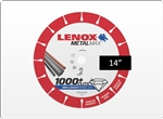 "Lenox MetalMax 14"" Metal Cutting Diamond Blade For Chop Saw"