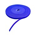 "1/2"" x 75' Hook & Loop Roll Blue For Cable Management"