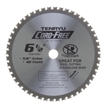 "Tenryu 6-1/2"" Steel Cutting Blade CF-16548M"